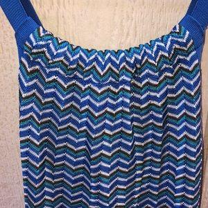 Anne Klein small blue dress